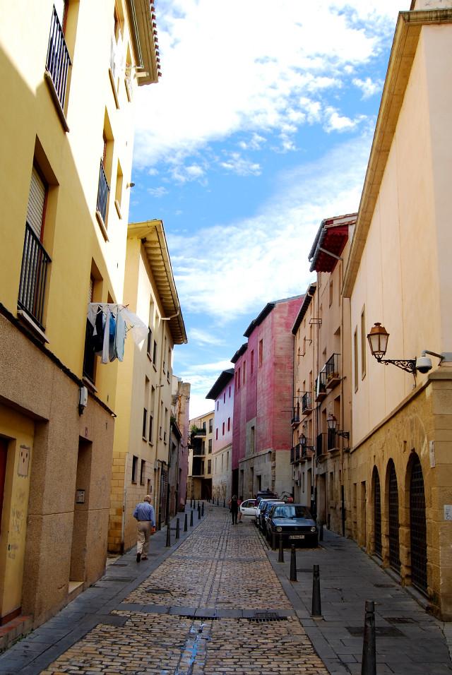 Streets in Logroño, La Rioja