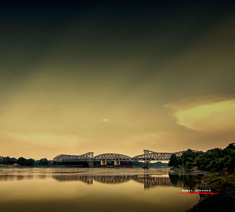 Sunset over the Jubilee Bridge -