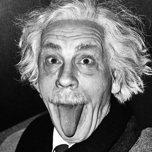 Sandro Miller, Arthur Sasse : Albert Einstein Sticking Out His Tongue (1951), 2014