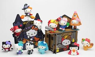 Hello Kitty 怪物系列 第二彈-東洋篇,跟您一起驚喜萬聖節!~