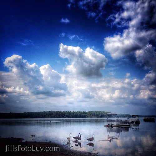 sky water clouds reflections landscape boats virginia richmond chesterfield rva sundaypark