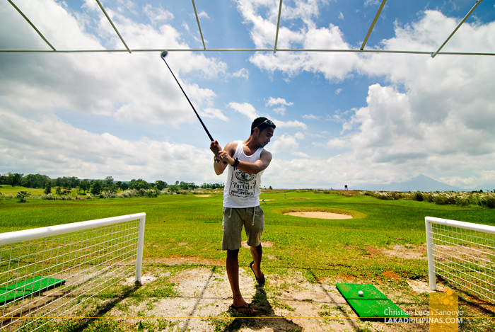 Golfing at Mountain Lake Resort in Caliraya Springs