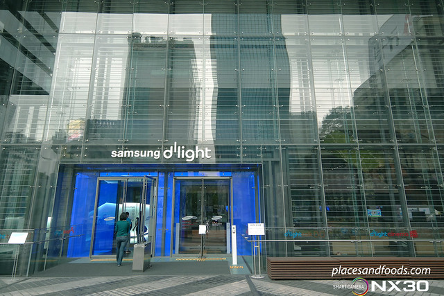 samsung d'light entrance