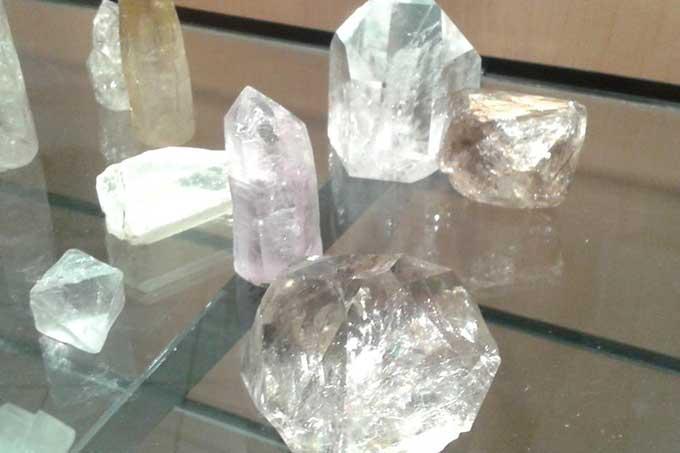cristales de cuarzo cargados de energía
