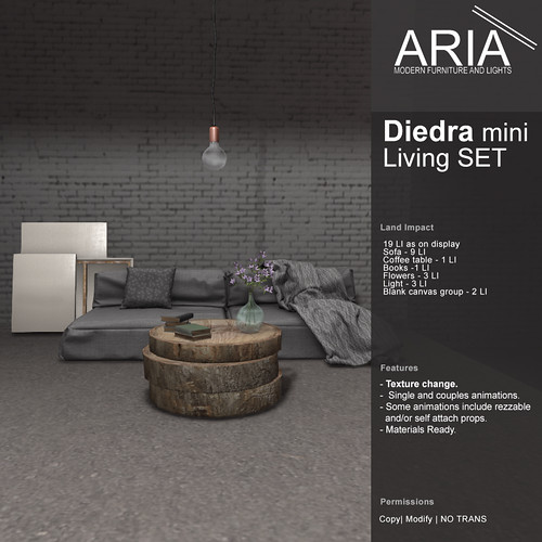 Diedra living mini SET @ FaMESHed