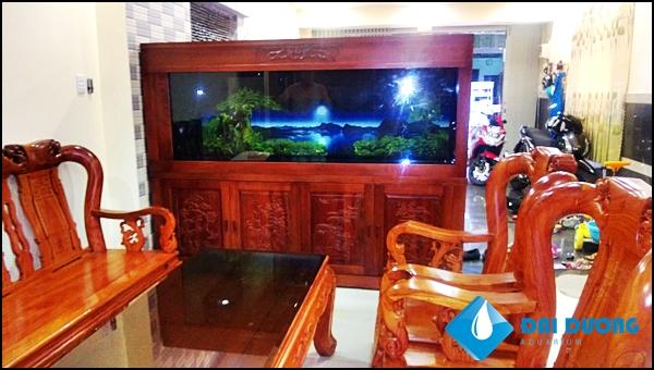 Hồ cá rồng A Hiếu KCN Tân Bình