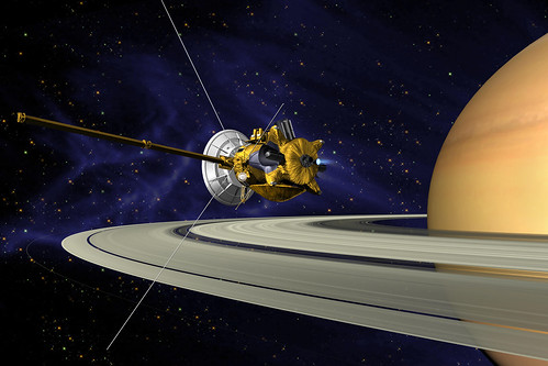 Space Probes: cassini probe