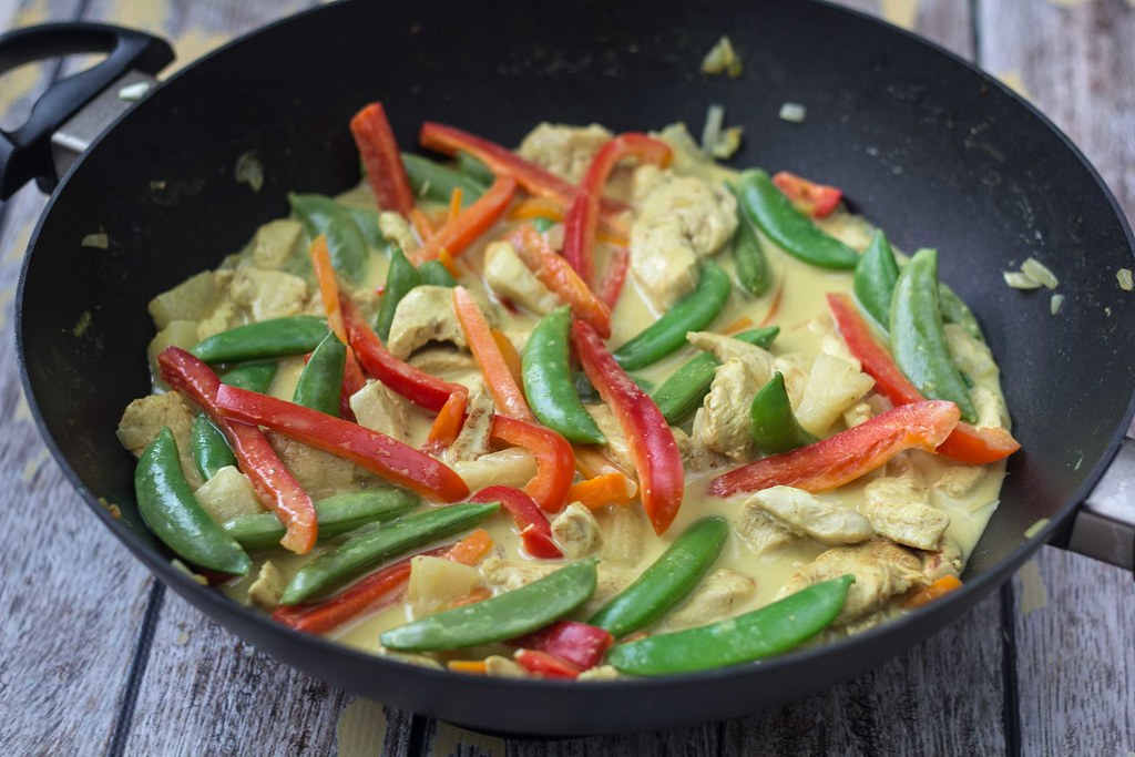 Recipe for Homemade Exotic Chicken Curry
