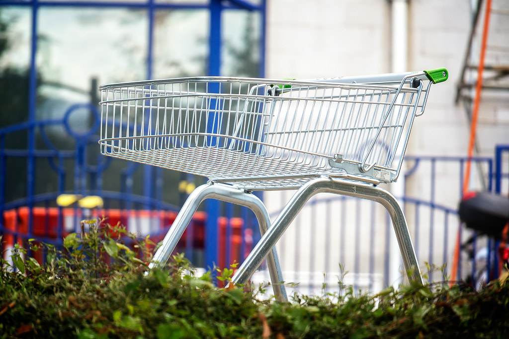 Abandoned Shopping Trolley