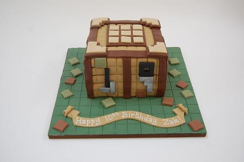 Minecraft Crafting Table Cake Beautiful Birthday Cakes