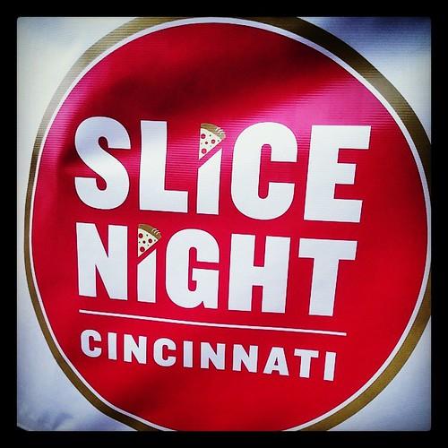 It was Slice Night @CincyParks Sawyer Point. Who knew?