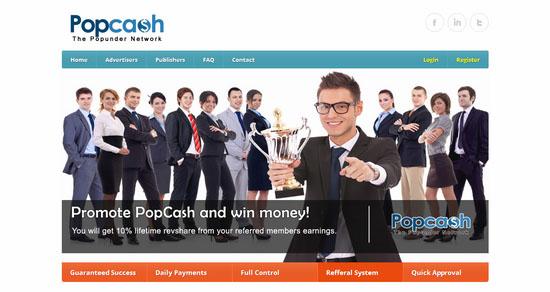 Pop Cash CPM Ad Netwok