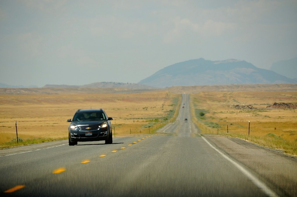 On the Road,WY