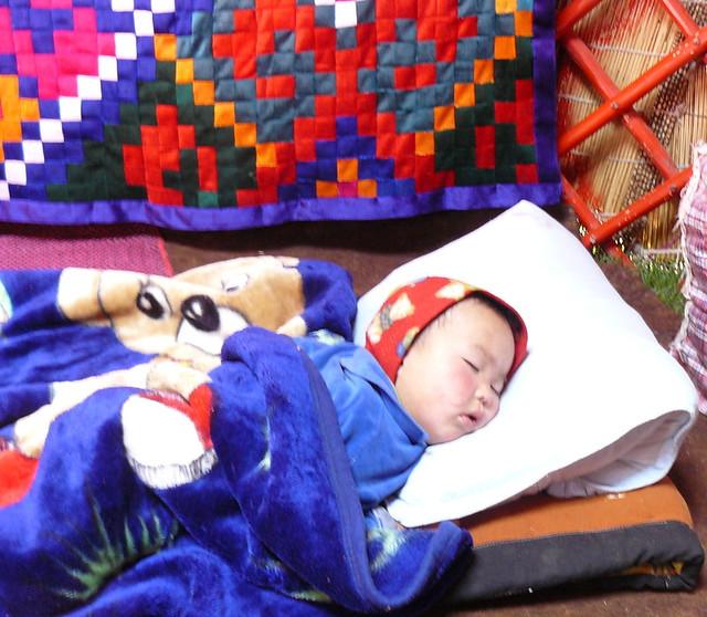 A Kyrgyz baby