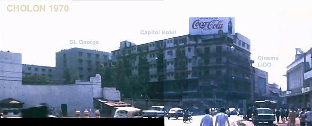 CHOLON 1970 - Giao lộ Đồng Khánh và Nguyễn Hoàng (nay là THĐ-Trần Phú)