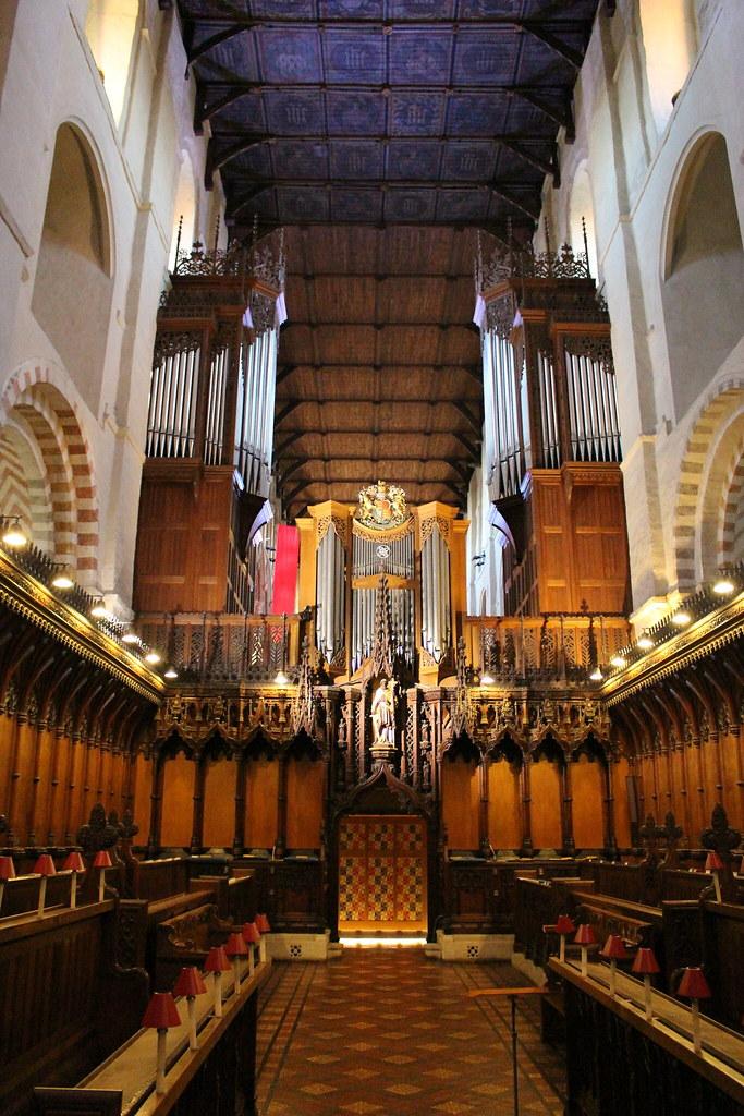 St Albans 대성당 파이프오르간 (Harrison&Harrison)