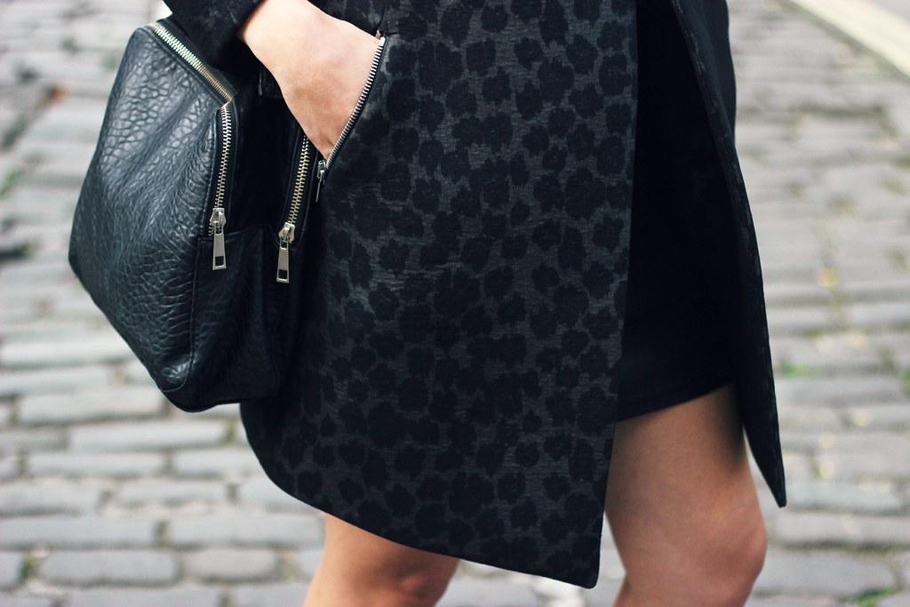 Reiss Structured Leopard coat 8