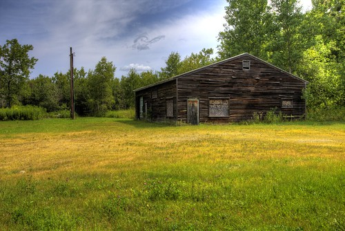 green abandoned grass yellow barn office decay massachusetts western berkshires stasburdan