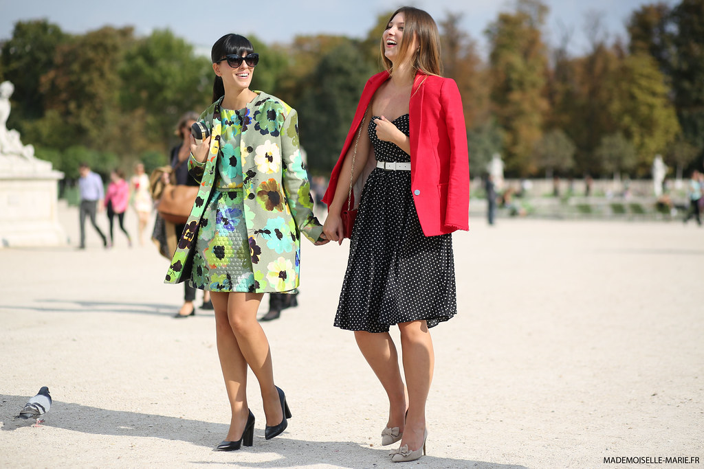Laura Comolli and Angelica Ardasheva, Paris