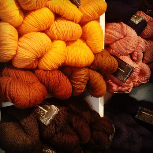Yarn in Autumn colours
