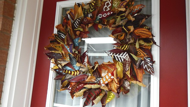 Fall Leaf Wreath 31