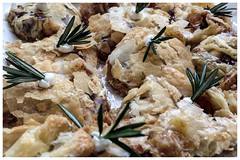 Fig, Goat Cheese & Rosemary Pastry