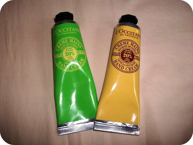 L'Occitane Zesty Lime Vanilla Bouquet Hand Creams
