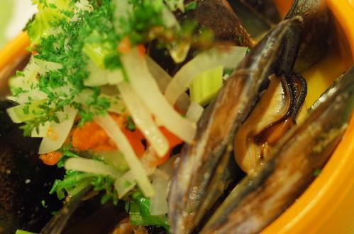 Mussels Moules Marinière