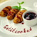 Rice Gnocchi With Red Wine Butter Sauce