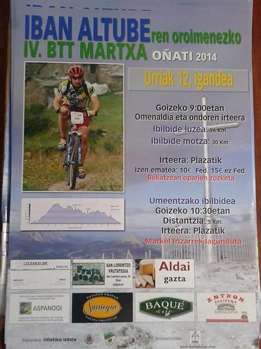 Iban Altube BTT Martxa IV 2014