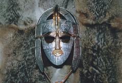 The Riddle-bana's helmet