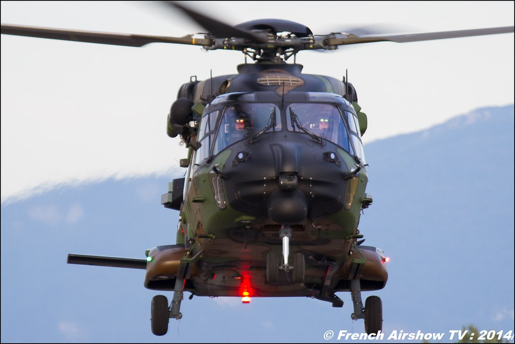 NH-90 Caiman, Airbus helicopter, 60 ans ,ALAT, JPO Gamstat Valence Chabeuil 2014