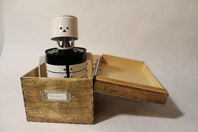 Robot Skeleton in Box