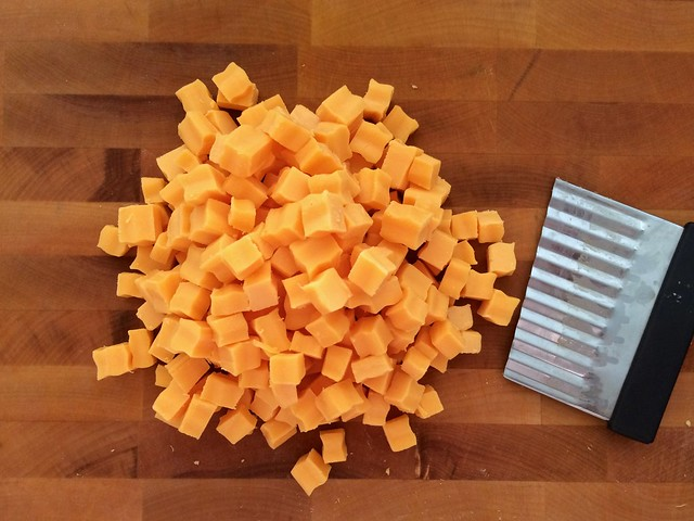 Diced Extra Sharp Cheddar Cheese
