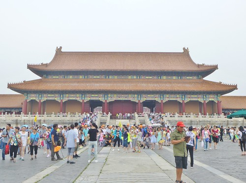 Beijing-Cité Interdite-Porte de l'Harmonie Suprême (16)