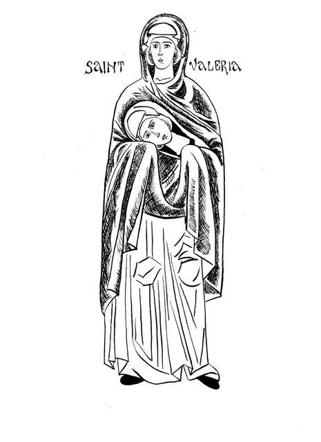 Sfanta Mucenita Valeria