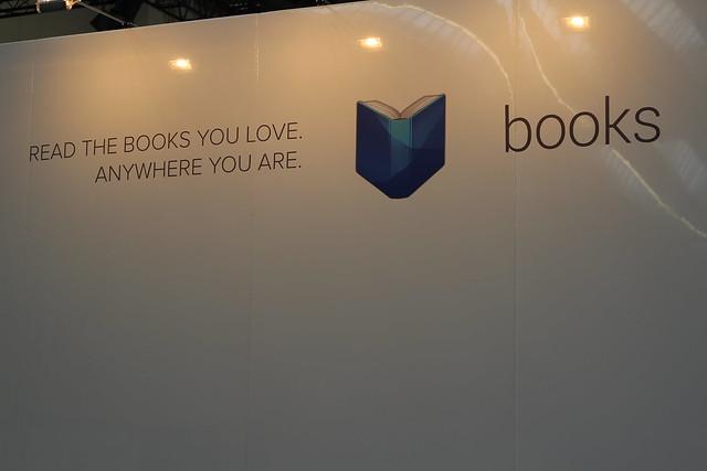 Google Books - Frankfurt Buchmesse 2014
