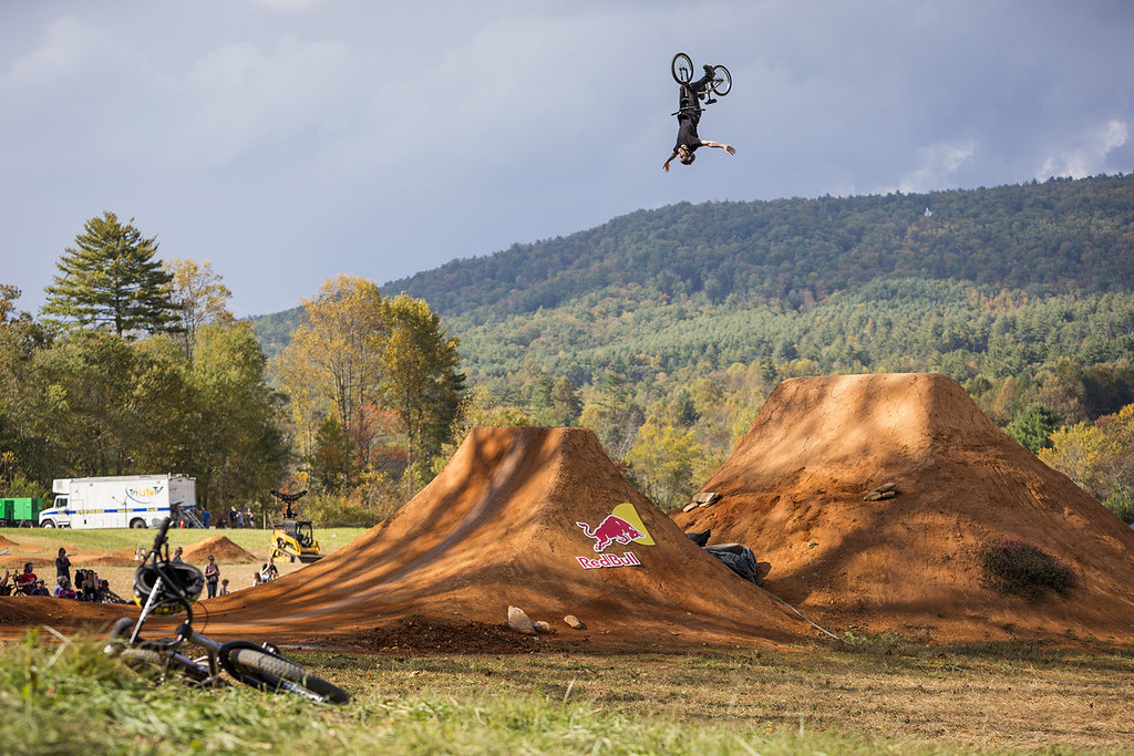 Red Bull Dreamline competition at Reeb Ranch