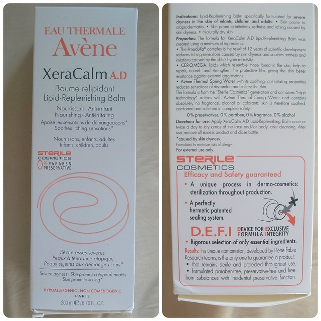 Eau Thermale Avène XeraCalm Lipid Replenishing Balm