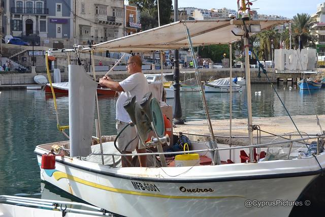 Malta - Day 2 St Julian's to Sliema ferries