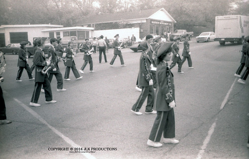 Tri-X Files 84_26.22a: End of the Homecoming Parade