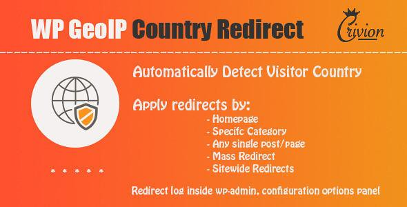 WP GeoIP Country Redirect free download