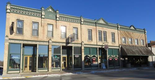 Storefront Block (Whitehall, Wisconsin)