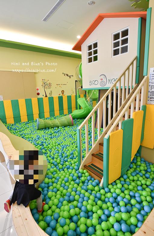 小鳥築巢親善親子餐廳球池沙坑10
