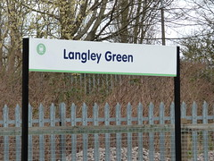 Langley Green Station