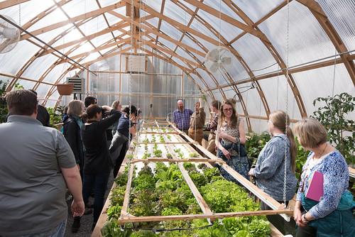 2017 Biomass Greenhouse Tour