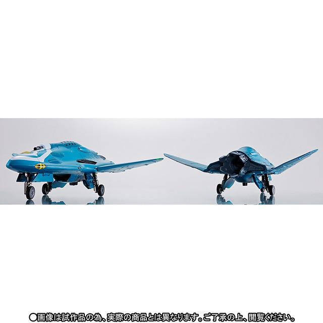 DX超合金《超時空要塞Δ》 Sv-262Hs 魔龍III(基斯·愛羅·溫德米爾機)用 支援機&導彈莢艙 擴充套件