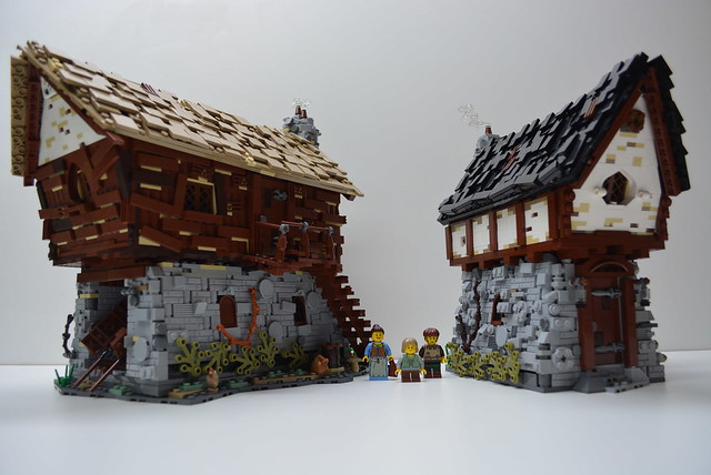 LEGO Medieval Watermill & Cottage