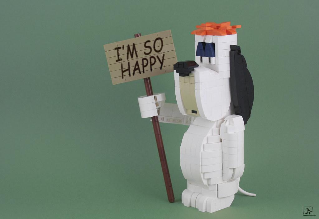 Droopy (custom built Lego model)