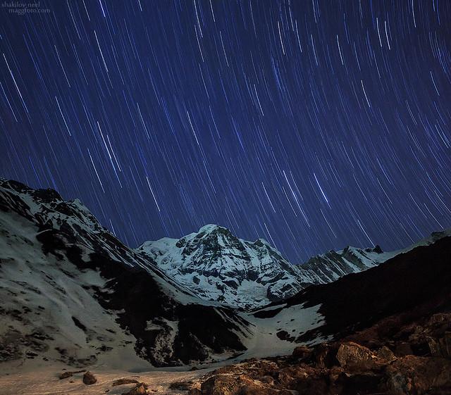 Annapurna Startrails